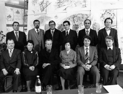 Государственная экзаменационная комиссия кафедры градостроительства САИ