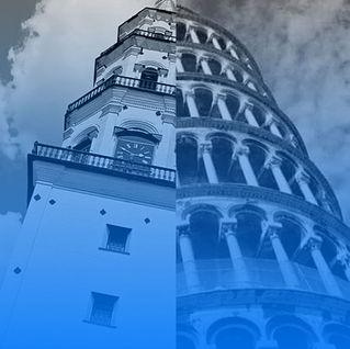 Выставочный проект «Отражение: Невьянская и Пизанская башни»
