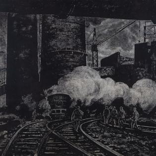 Выставка «Комбинат» индустриальный пейзаж в гравюрах Валентина Новиченко