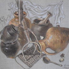 Выставка Александра Мицника «Деревенский натюрморт»