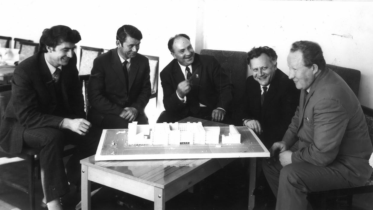 Г.С. Заикин, В.А. Пискунов, И.М. РасчектаевН.С. Алферов, А.Э. Коротковский,