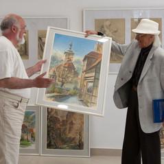 Выставка акварелей Г.В. Шауфлера «Остановить мгновение»