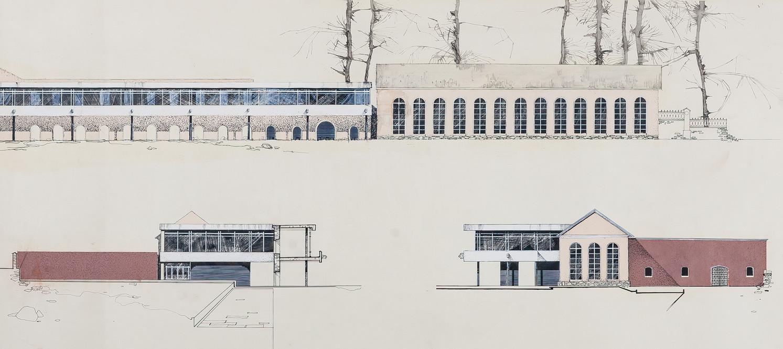 Здание музея истории промышленной техники старого Урала и истории Екатеринбургского завода.
