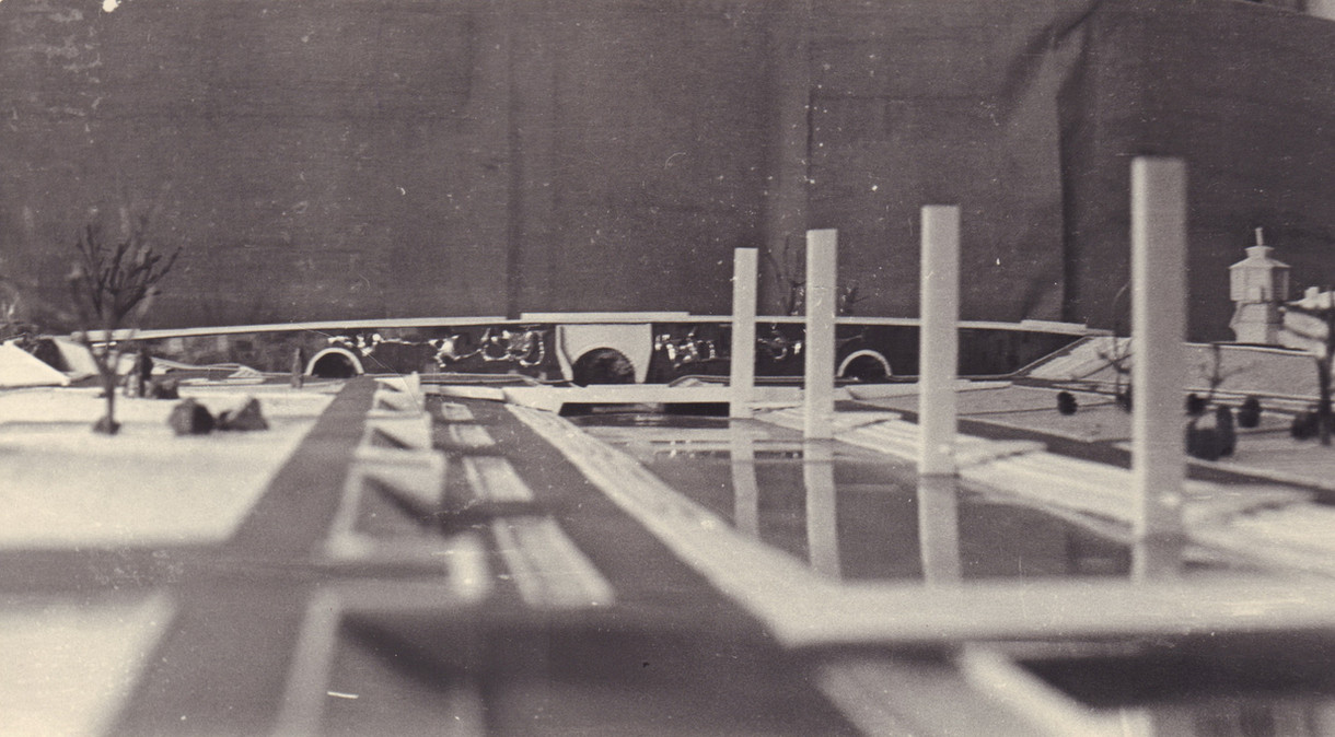 Макет к проекту Исторического сквера