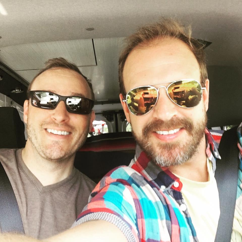 David Clapper and Eric Van de Steeg, Owners of sCAMPer van