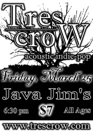 Tres Crow - Java Jim's