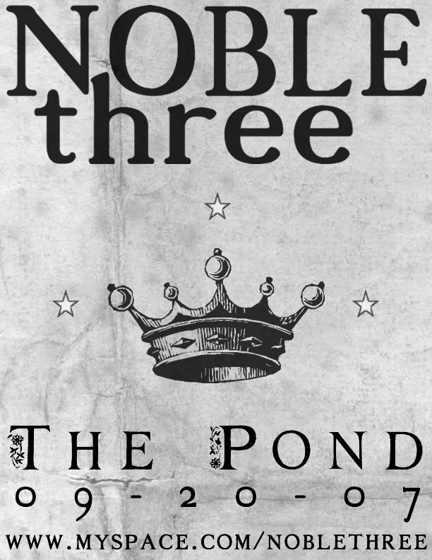 Noble Three - The Pond