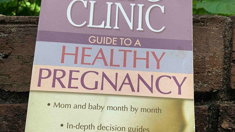 Mayo Clinic Guide to Pregnancy