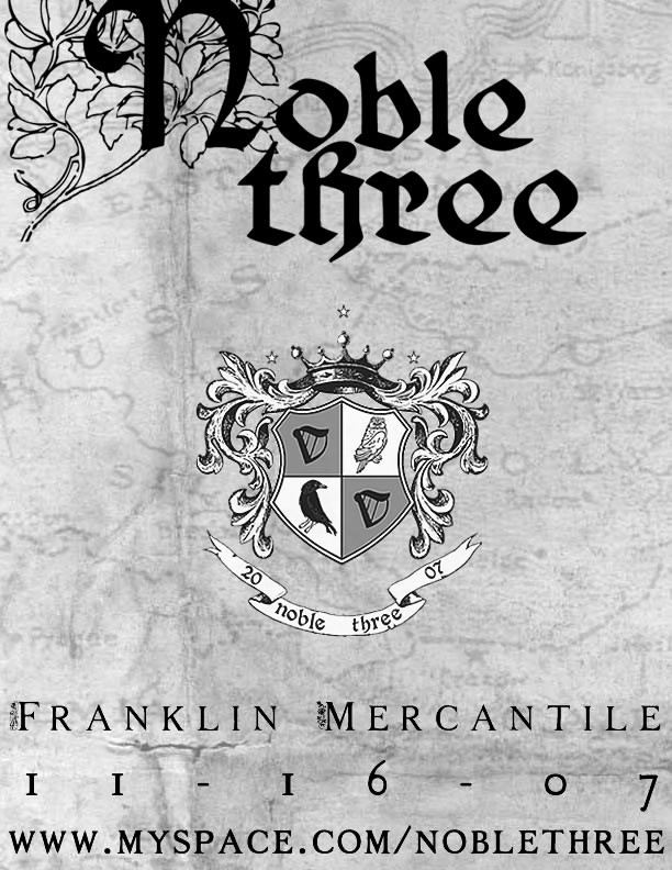Noble Three - Franklin Mercantile