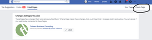 Creating an author page on Facebook