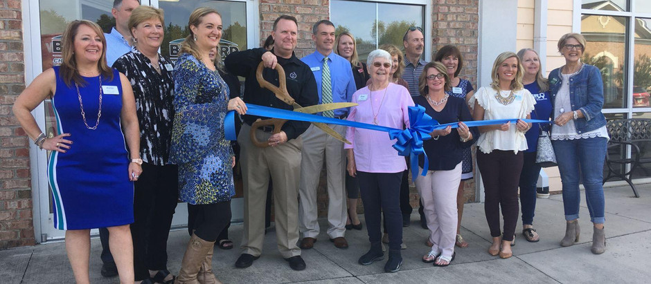 Ribbon-cutting held at Stillwater Business Solutions (now FinTeam Business Consulting)