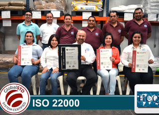 """Habacuq obtiene la certificación """"ISO 22000"""""""