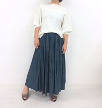 dollysean  / ギャザーロングスカート