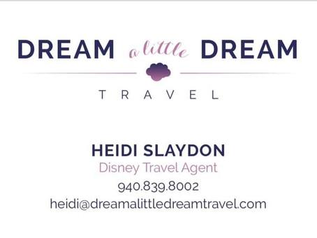 Heidi Slaydon- Dream A Little Dream Travel