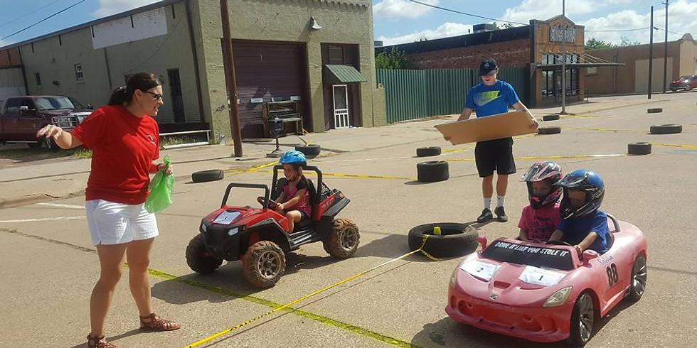 Power Wheels Drag Race