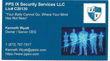 PPS IX Security Service LLC
