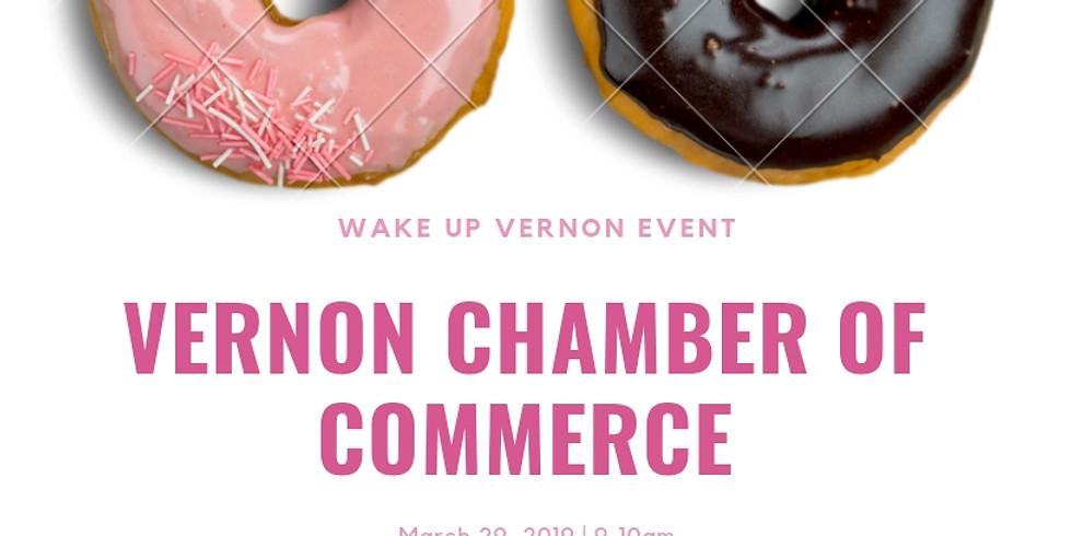 Wake Up Vernon Networking Event