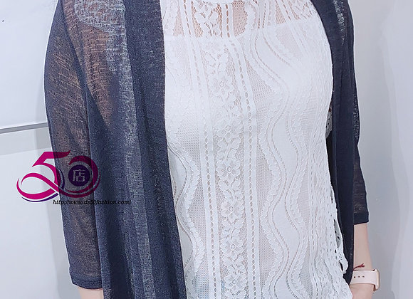 JK-1001 薄紗中袖外套