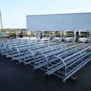 Galvanized Steel Ladder and Cage