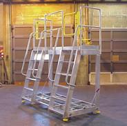Mobile Aluminum Maintenance Platform
