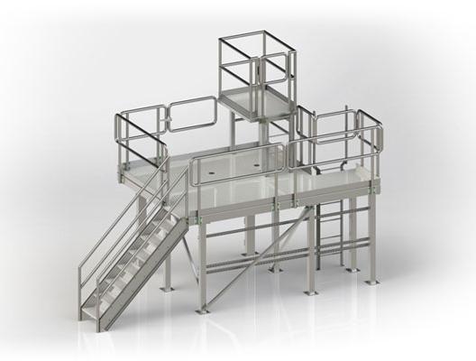 Custom Stainless Steel Sanitary Equipmen