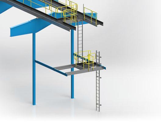 Engineered Aluminum Catwalk System with