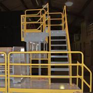 Custom Steel Equipment and Operator Platform