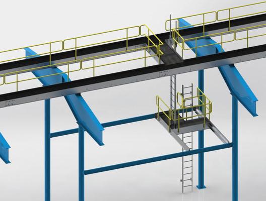 Engineered Aluminum Catwalk System