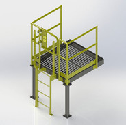 Access Platform and Fixed Ladder
