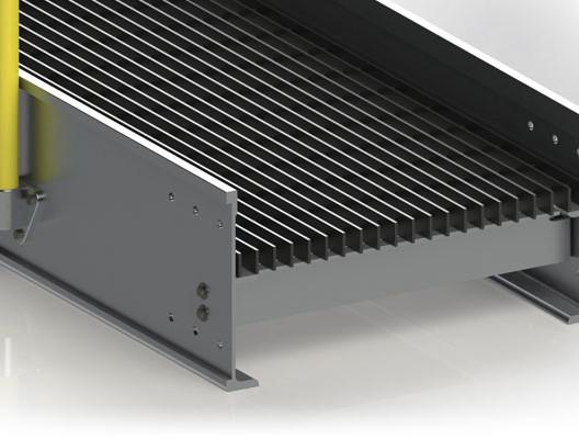 Proprietary Aluminum Catwalk Extrusion