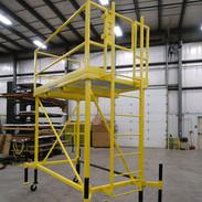 Mobile Steel Maintenance Platform