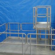 Custom Stainless Steel Sanitary Equipment Platform