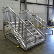 Mobile IBC Aluminum Access Platform