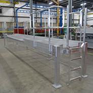 Fixed Industrial Aluminum Ladder