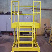 Mobile Stainless Steel Maintenance Platform