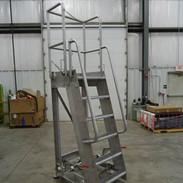 Mobile Stainless Steel Maintenance Platf