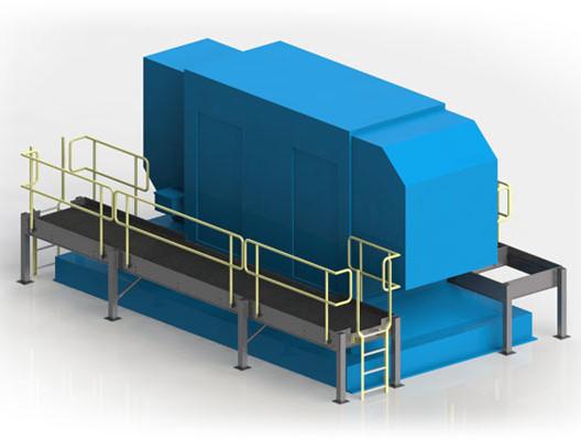 Custom Aluminum Generator Maintenance Pl