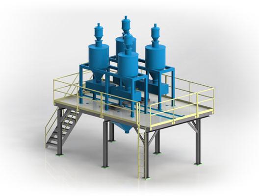 Custom Structural Steel Equipment Access