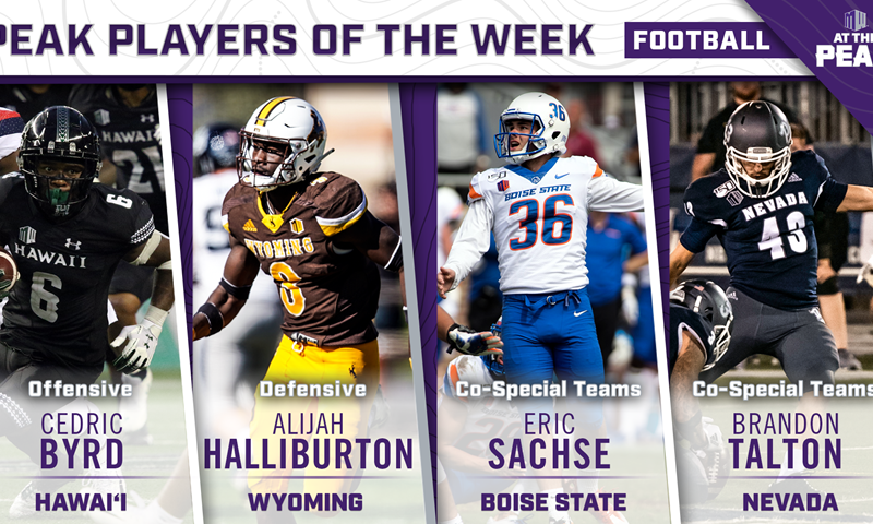 """Mountain West's """"Co-Special Teams Player of the Week 