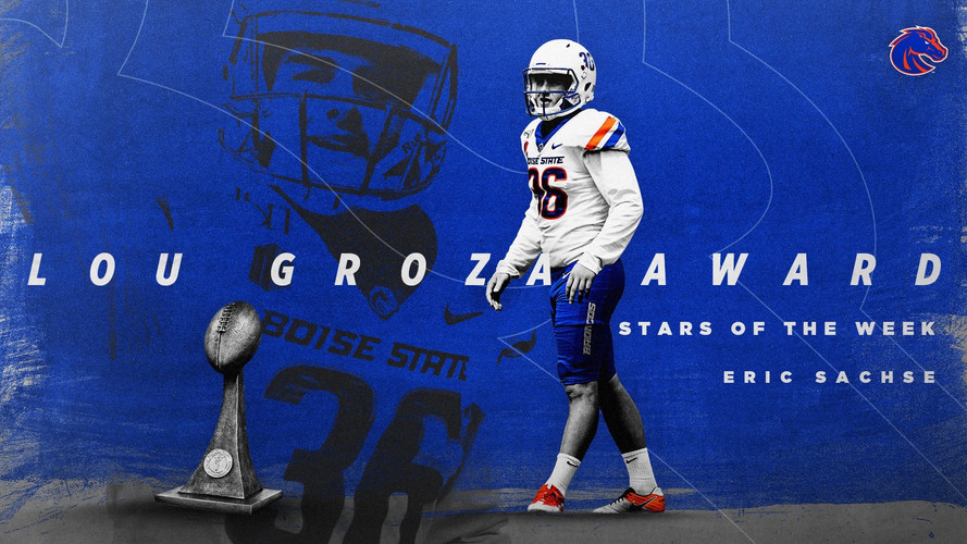 "Lou Graza Award   ""Stars of the Week""   CFB Week 1"