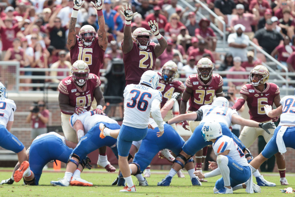 Boise State @ Florida State | August 31, 2019
