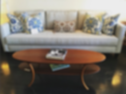 Malibu Sofa, Surfboard Coffee Table