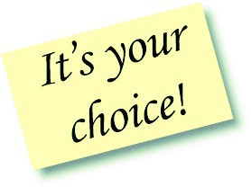 It's your choice! groundedpsychic.com