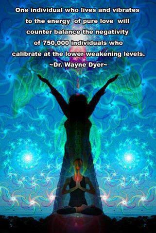 Vibrate with love. groundedpsychic.com