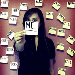 Me labels.