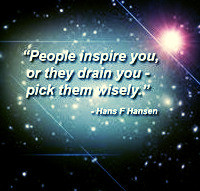 Pick your friends wisely. groundedpsychic.com