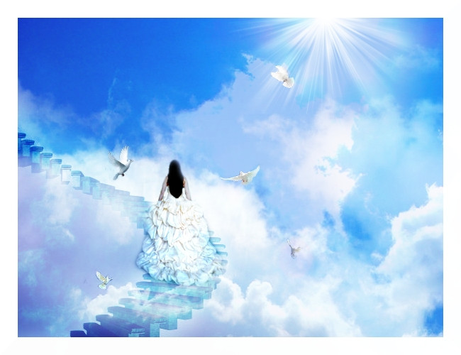 Steps to the afterlife. groundedpsychic.com Laura Zibalese