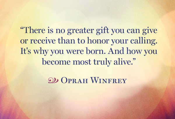 Honor your calling. groundedpsychic
