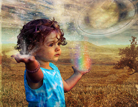 Many Psychic Children see Auras. groundedpsychcic.com