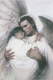Angels watch over us and guide us. groundedpsychic.com